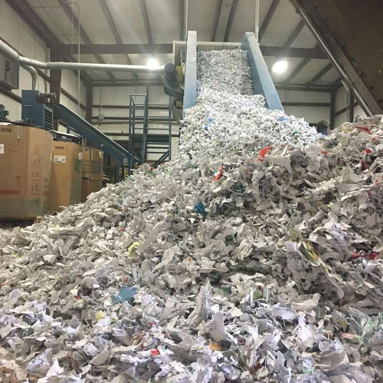 DOCUMENT SHREDDING - naid certified