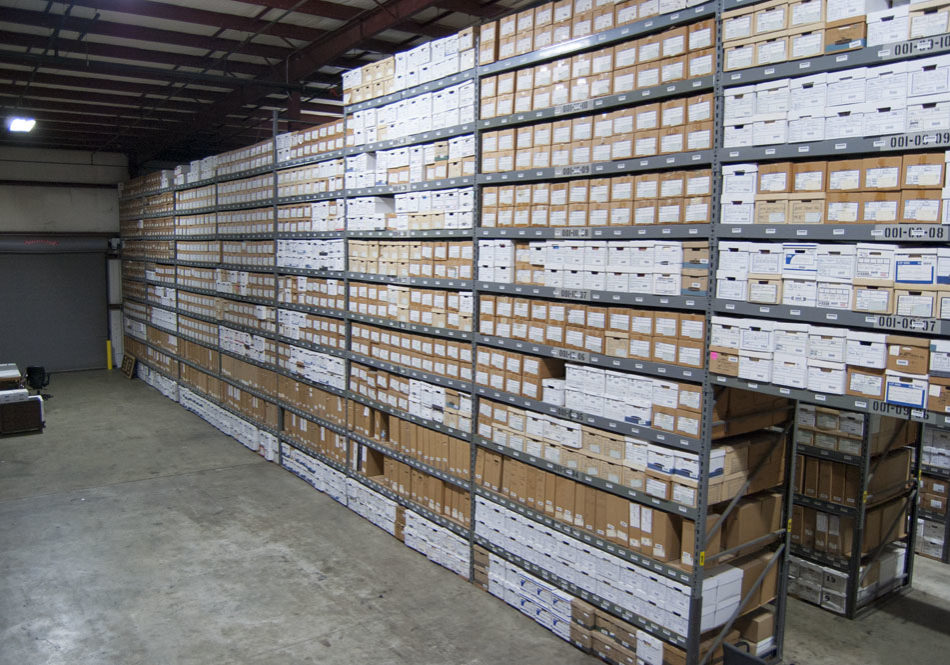 RECORDS MANAGEMENT - secure warehousing